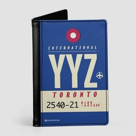 Airportag YYZ Passport Cover