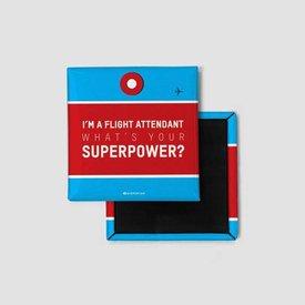Airportag I'm a Flight Attendant Magnet