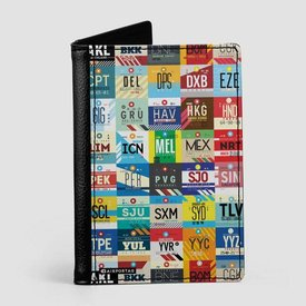 Airportag Worldwide Airports Passport Cover