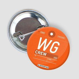 Airportag WG Button