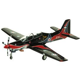 AV72 AV72 Tucano T1 Royal Air Force Display Team 2009 Black / Red 1:72 with stand