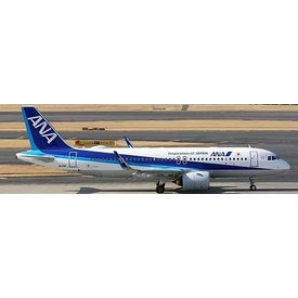 JCWINGS A320neo ANA JA211A 1:200 with stand