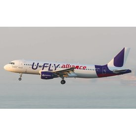 JCWINGS A320 Hong Kong Express U-FLY Alliance 1:400