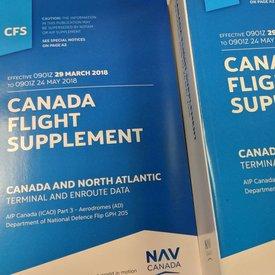 Nav Canada Canada Flight Supplement September 13th 2019
