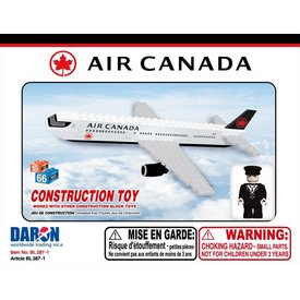Best-Lock Construction Toys Air Canada 55 Piece Construction Toy New Livery 2017 (Bestlock)