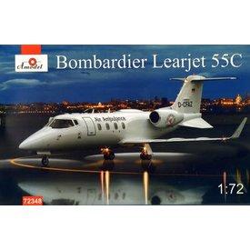 AMODEL AMODE Bombardier Learjet 55C 1:72