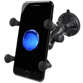 Ram Mounts Composite Twist-Lock™ Suction Cup Mount with Universal X-Grip® Cell Phone Cradle