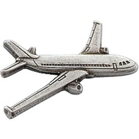 Pin Airbus A320 Silver Ox