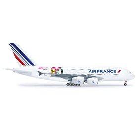 Herpa A380-800 Air France 80th F-HPJI 1:200