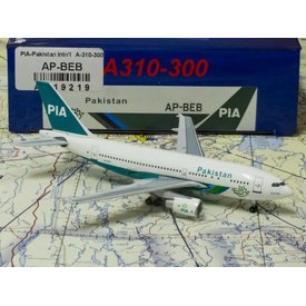 AeroClassics A310-300 PIA Pakistan International AP-BEB 1:400