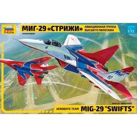 """Zvesda ZVESDA MiG-29S """"Swifts"""" (Strizhi) 1:72"""