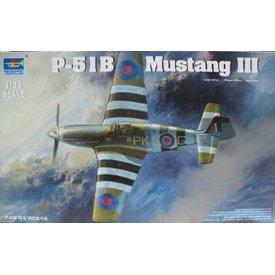 Trumpeter Model Kits TRUMP MUSTANG III RAF(P51B/C) 1:32