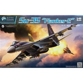 Kitty Hawk Models KITTY HAWK SU-35 FLANKER E 1:48 SCALE KIT