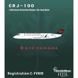 HYJL Wings CRJ100 Air Canada 1993 green tail livery C-FVKM Jasper 1:200