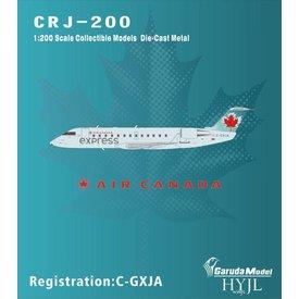 HYJL Wings CRJ200 Air Canada express Air Georgian 2004 blue livery C-GXJA 1:200