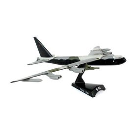 Postage Stamp B52D Stratofortress USAF Black Tail Vietnam 1:300 with stand