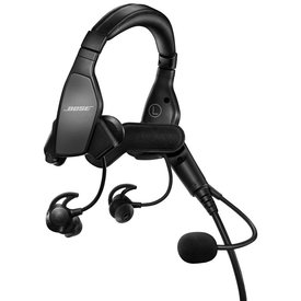 Bose Pro Flight Headset with Bluetooth dual GA Jacks