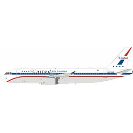 InFlight A320 United Airlines A320 Friend Ship N475UA 1:200 with stand