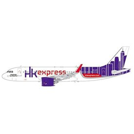 JCWINGS A320neo Hong Kong Express B-LCO 1:200 with Stand