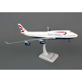 Hogan B747-400 British Airways 1:200 with stand (no gear)