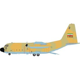 JFOX C130H Hercules Iran Air Force 5-8544 1:200 With Stand