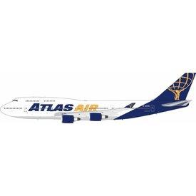 JFOX B747-400 Atlas Air N464MC 1:200 with Stand