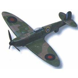 MotorMax Spitfire RAF camouflage diecast toy
