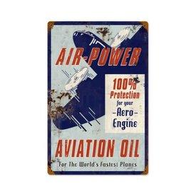 Air Power Metal Sign