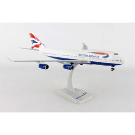 Hogan B747-400 British Airways G-CIVY 1:200 With Gear+stand