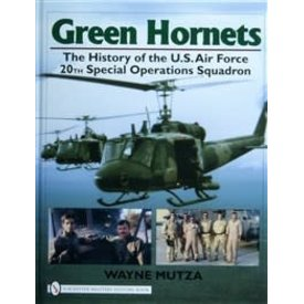 Schiffer Publishing Green Hornets: USAF 20TH Special Operations Squadron hardcover