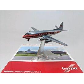 Herpa Herpa Viscount 700 Trans Canada Airlines TCA CF-THI 1:200 Diecast,