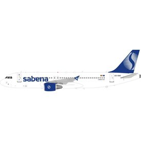 InFlight A320 A320-200 Sabena OO-SNE 1:200 with stand