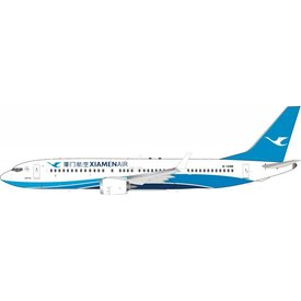 InFlight B737 MAX8 Xiamen Airlines B-1288 1:200 With Stand