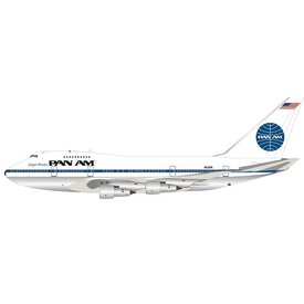 InFlight B747SP Pan Am N531PA Clipper Freedom 1:200 polished with stand