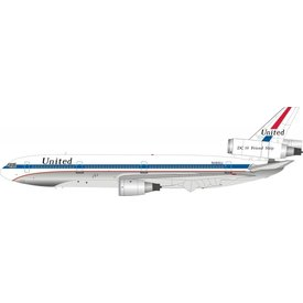 InFlight DC10-10 United Airlines N1816U DC10 Friend Ship Polished 1:200 with stand*NEW MOLD*