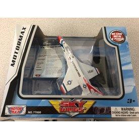MotorMax F16 Fighting Falcon Thunderbirds 1:100