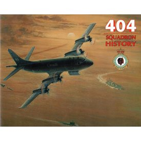 404 Squadron History RCAF Hardcover (Used Copy)**O/P**