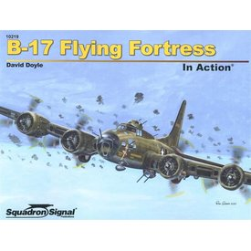 Squadron B17 Flying Fortress: In Action #219 Softcover **o/p**