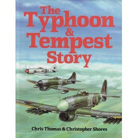 CANAV BOOKS Typhoon & Tempest Story Hardcover (Used Copy)**o/p**