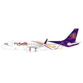 JCWINGS A320S Thai Smile HS-TXU 1:200 with stand (sharklets)