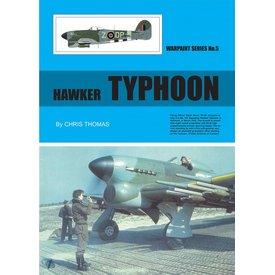 Warpaint Hawker Typhoon: Warpaint #5 Softcover