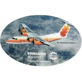 """Bombardier Dash7 Sticker Bombardier photo 6"""" x 3 3/4"""""""