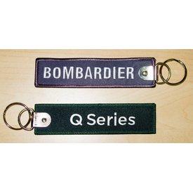 Bombardier Key Chain Q Series Green BOMBARDIER