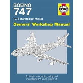Haynes Publishing Boeing 747: Owner's Workshop Manual Softcover
