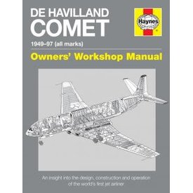 Haynes Publishing DeHavilland Comet: Owner's Workshop Manual: 1949-1997 All Marks Hardcover