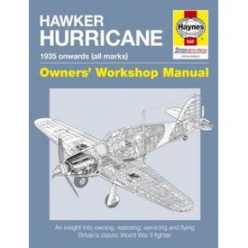 Haynes Publishing Hawker Hurricane: 1935 onwards: all marks: Owner's Workshop Manual softcover