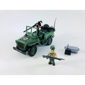 RCAF Jeep Cobi 90 pieces (Limited Edition)