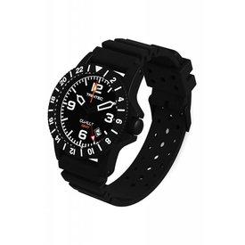 Trintec Industries Copilot Watch Quartz GMT Black Rubber Strap