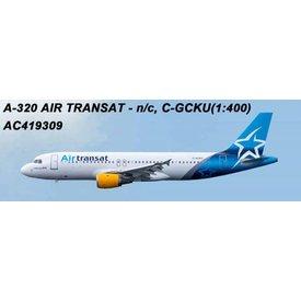 AeroClassics A320 Air transat new livery 2018 C-GCKU 1:400