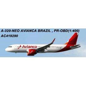AeroClassics A320neo Avianca Brazil 2013 livery PR-OBD 1:400